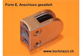"""Glashalter Typ C, Anschl. 1 1/4"""", Glasdicke 10.76mm"""