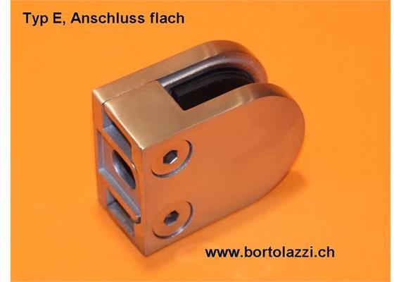 glashalter typ c anschl flach glasdicke typ c. Black Bedroom Furniture Sets. Home Design Ideas