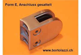 """Glashalter Typ E, Anschl. 1 1/4"""", Glasdicke 12.0mm"""