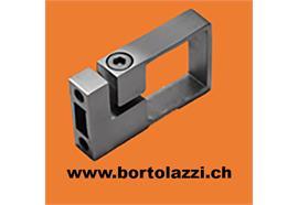Rohrklemme V2A für Rohre 40 x 40mm