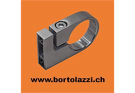 Rohrklemme V2A für Rundrohre d=33.7mm