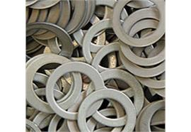 Scheiben mit Loch aus Aluminium